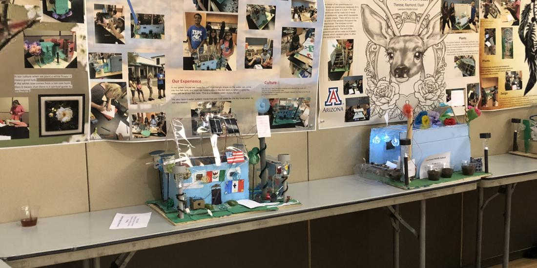 STEMRISE Arizona Summer of Solar Punk Student Showcase June 28, 2018